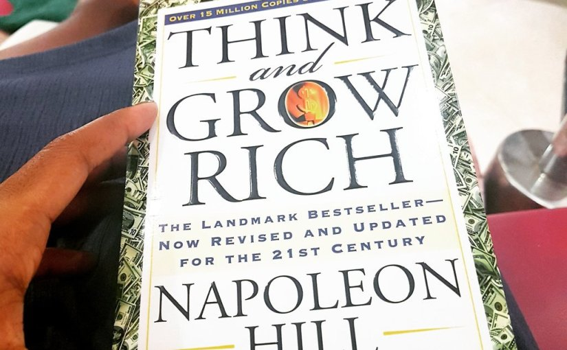 "Hill shows us how ""our only limitations are those we set up in our own minds"" in his widely applauded book – 'Think and Grow Rich'"