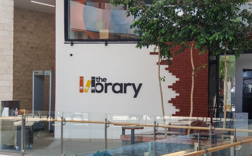 My Writing/Reading Spots: TheLibrary